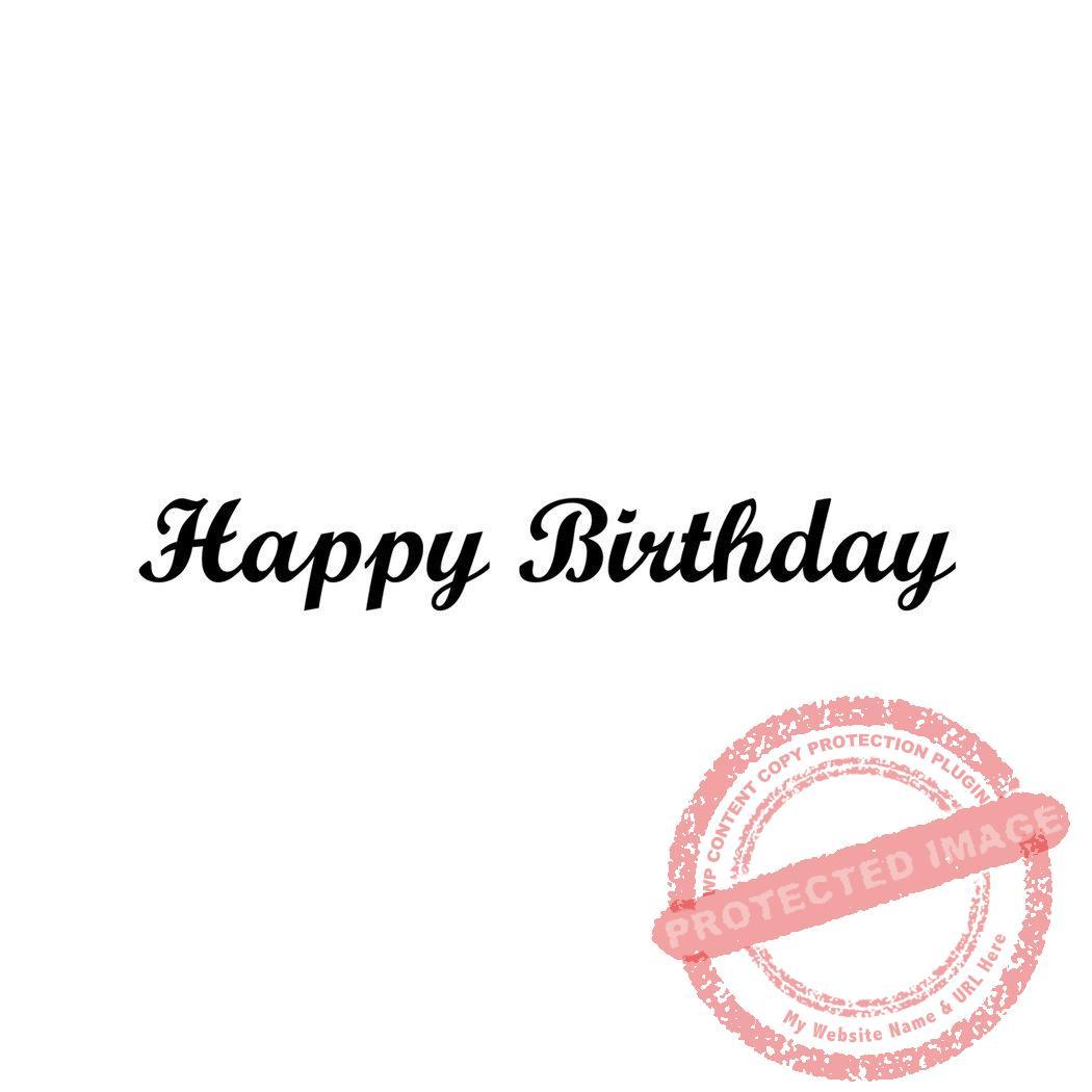 Happy Birthday Small Script T1 18 B Gt Peddlers Den