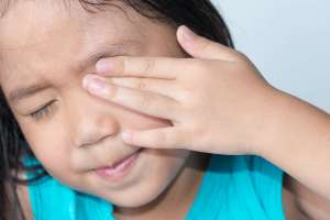 Eye injuries are not only painful, but can also have long-lasting damages. Take every precaution with your child!