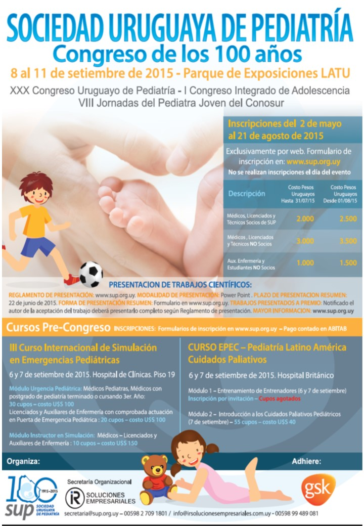 CONGRESO PEDIATRIA 2015