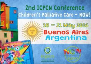 Jornada de Cuidados Paliativos Pediátricos, 18-21 mayo 2016 Bs AS