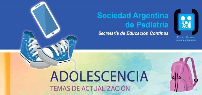 CURSO A DISTANCIA, TEMAS DE ACTUALIZACION EN ADOLESCENCIA, SOCIEDAD ARGENTINA PEDIATRIA.