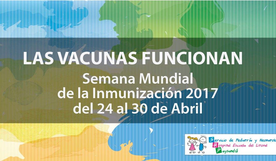 Semana Mundial de la Inmunización 2017
