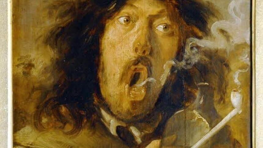 de-drinkende-roker-joos-van-craesbeeck-17e-eeuw
