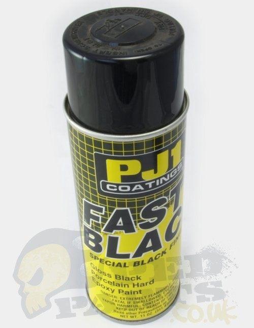 pj1 high temperature black exhaust paint