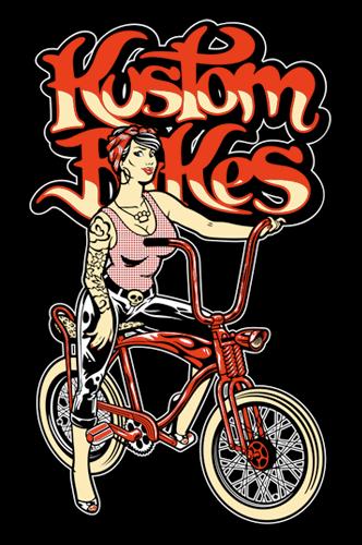 Kustom Bikes merchandising