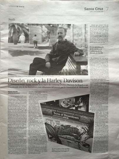 Diseño, Rock y la Harley Davidson