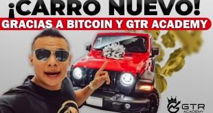 Carro nuevo gracias a Bitcoin y GTR Academy