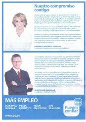 Esperanza Aguirre y Alberto Ruiz-Gallardón