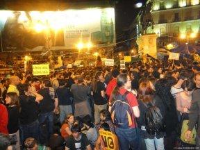 foto de manifestacion en madrid 15m - Reflexiones con soluciones a la crisis...