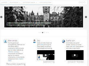 Actividades del servicio para la nueva web