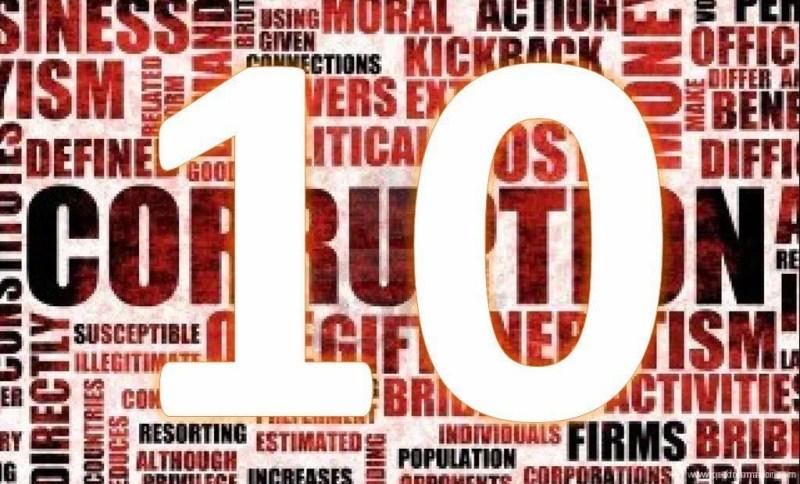 10 reglas corrupción