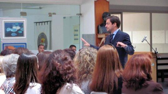 Fotos conferencia Motivación Elbio Fernández Uruguay 3