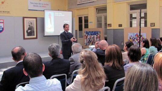 Fotos conferencia Motivación Elbio Fernández Uruguay 2