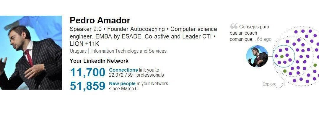 Linkedin is the best!