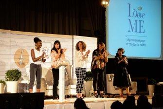 Dove Uruguay: María Dodera, Emma Sanguinetti, Mariela Marenco y Florencia Infante