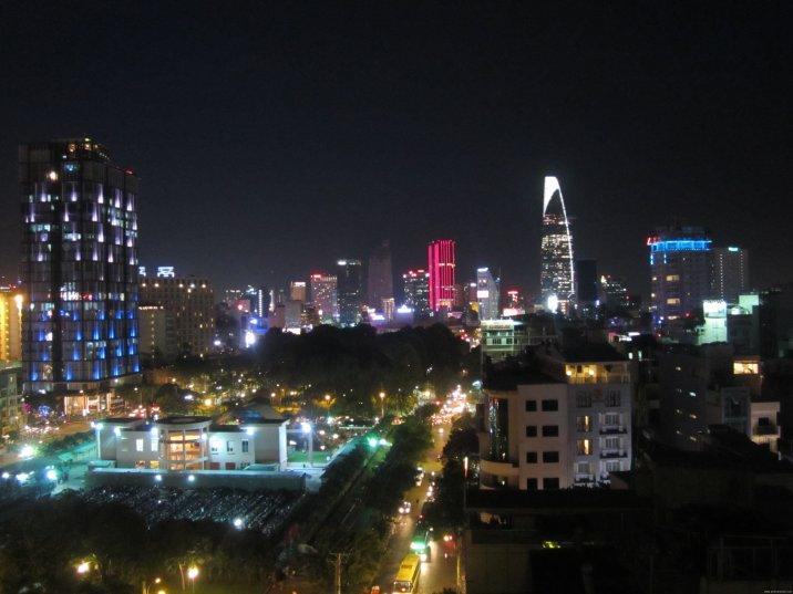 VIETNAM-Ho Chi Minh sklyline