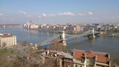 BUDAPEST Buda vistas