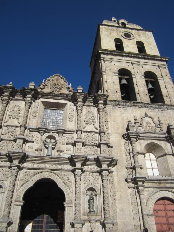 BOLIVIA-Catedral la Paz