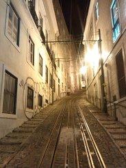 LISBOA-Rieles de tranvía