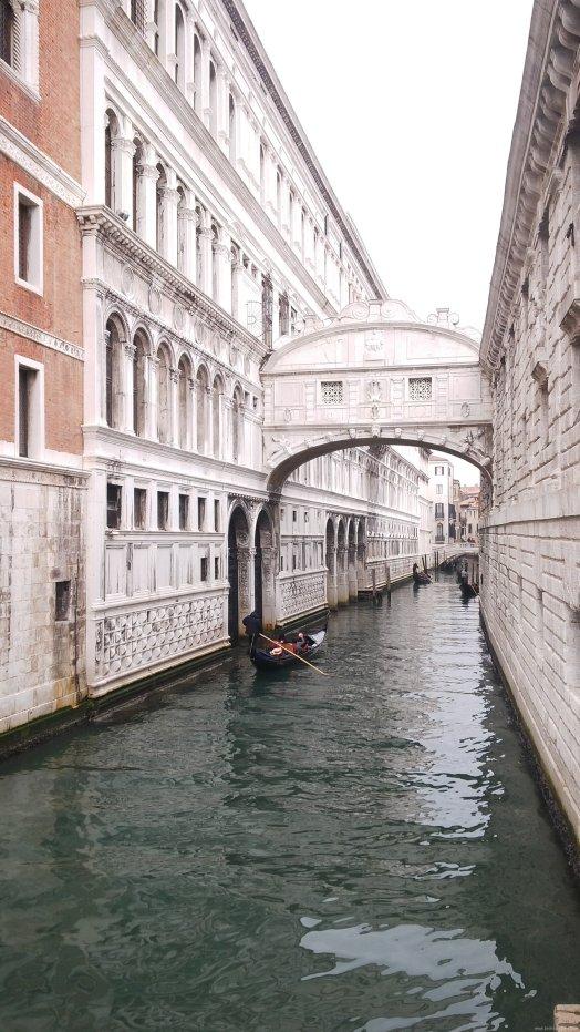 VENECIA-Puente de los suspiros
