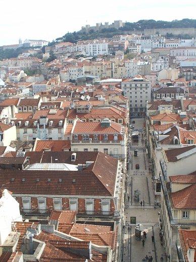 Mirador en Lisboa