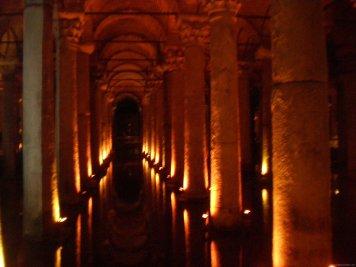 TURQUIA Estambul Cisterna Yerebatan
