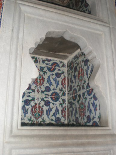 TURQUIA Estambul hornacina Topkapi