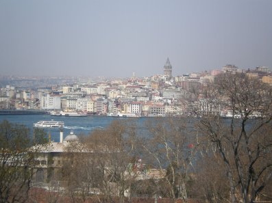 Imagen TURQUIA Estambul Mar de marmara y Torre Galata