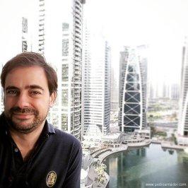 La vista desde mi actual apartamento en Dubai