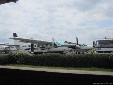 TANZANIA-Arusha aviones