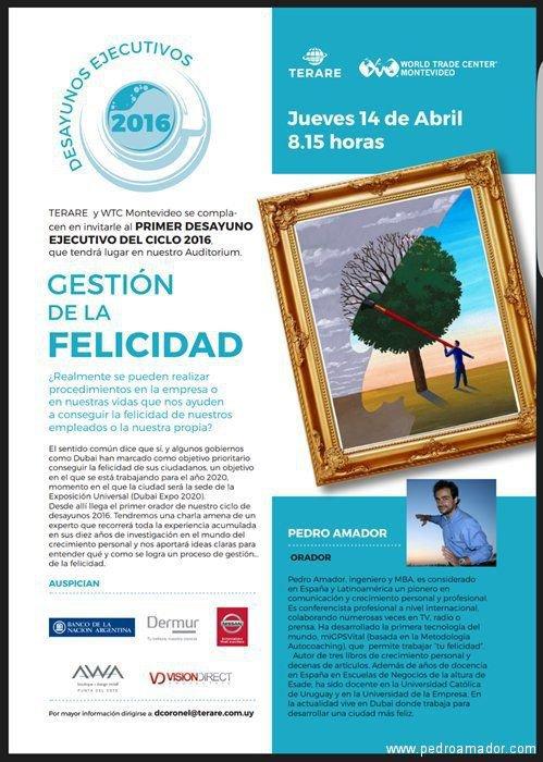 Imagen Desayunos WTC Uruguay Montevideo Felicidad