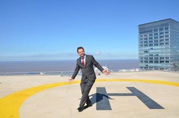 Primer Helipuerto Evelado Internacional WTC Montevideo FreeZone