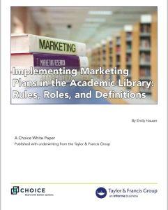 Biblioteca, marketing