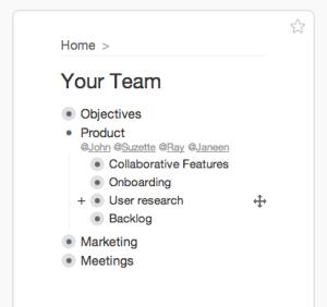 Ejemplo de uso de WorkFlowy, la mejor manera de organizar bien nuestras ideas
