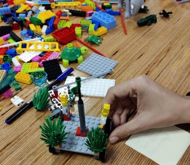 mision visión y valores con Lego Serious Play