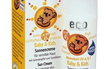 Protectie solara bio pentru copii Eco Cosmetics