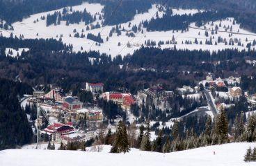 Poiana Brașov, perfectă pentru sporturi de iarnă și drumeții