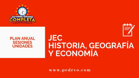 JEC Ciencias Sociales JEC HGE