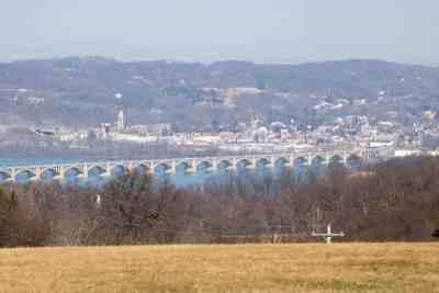 Bridge over the Susquehanna at Wrightsville, PA