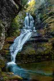 Dingmans Falls in the Delaware Water Gap