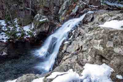 Hawk Falls in Hickory Run State Park