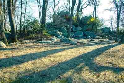 Rocks at Samual S. Lewis State Park