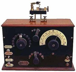 Ducretet crystal radio (1923)