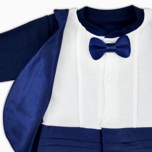 9e300584b13 Premium Blue Tuxedo Romper Premium Blue Tuxedo Romper