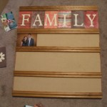 Baseboard Photo Display