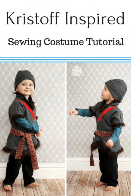 DIY Kristoff Costume Tutorial