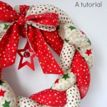 Christmas Braided Wreath A Tutorial Peek A Boo Pages