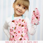 FREE Toddler Apron Pattern & Toy Oven Mitt Pattern