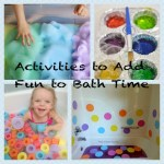 Activities to Add Fun to Bath Time