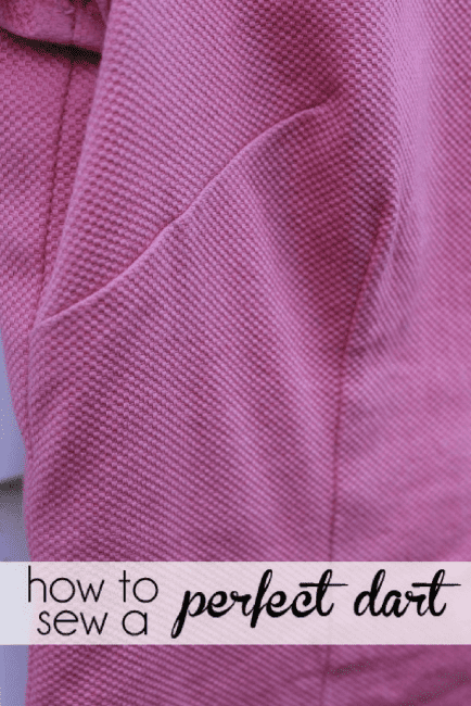 How to sew a dart in a dress